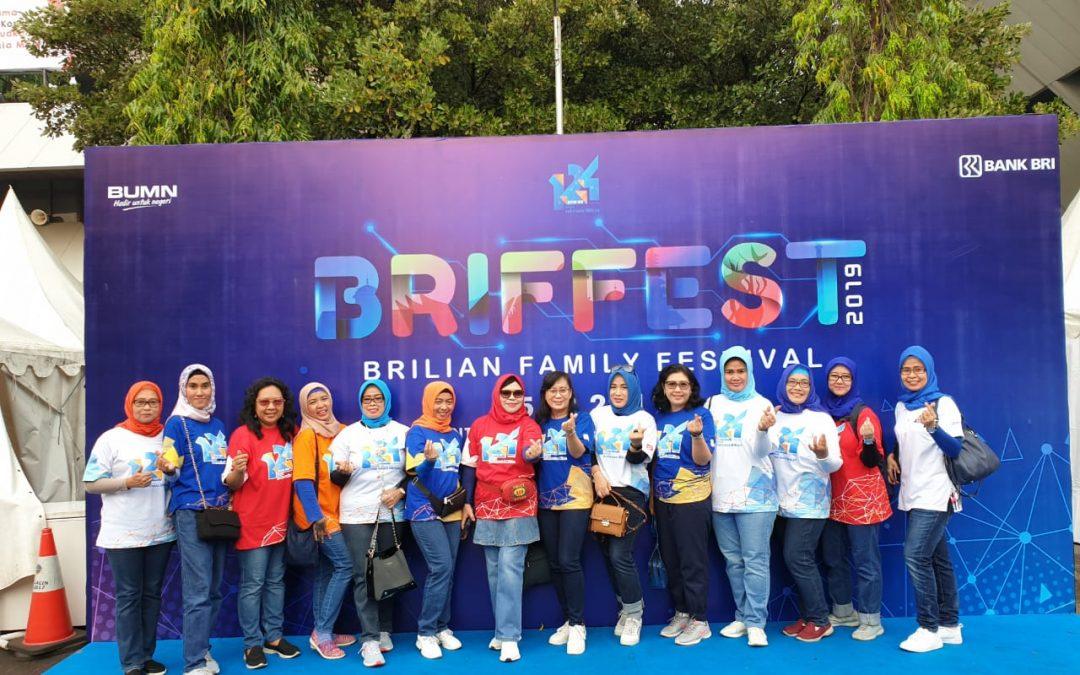 IWABRI Tingkat Wilayah Semarang turut meramaikan BRIFFEST 2019