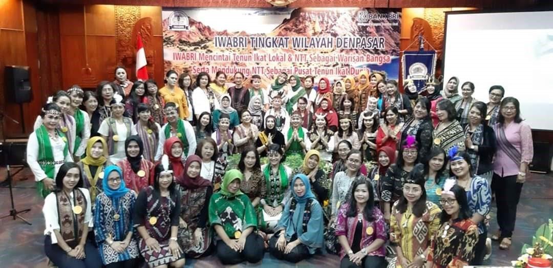 Pertemuan Rutin IWABRI Tk .Wilayah Denpasar, Aula BRI Kanwil Denpasar, 26 Oktober 2019