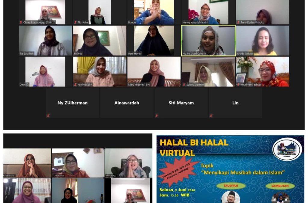 Halal Bi Halal IWABA Padang secara Virtual, 9 Juni 2020