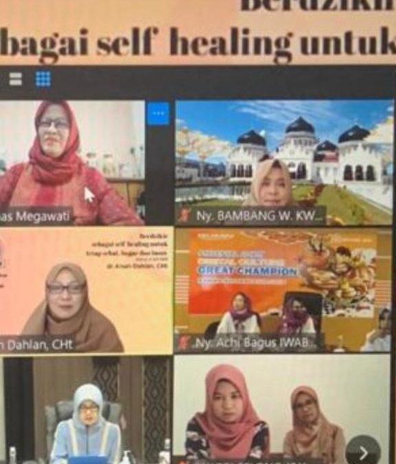 IWABRI Tingkat Wilayah Banda Aceh Mengikuti Pengajian Yang Diadakan IWABRI Tingkat Pusat dan MT. Assakinah