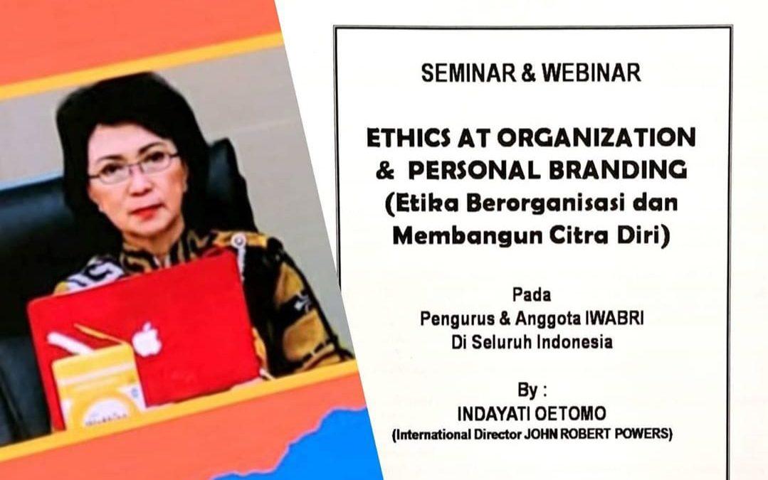 Iwabri Surabaya Turut Serta Dalam Seminar John Robert Powers Etika Berorganisasi Dan Membangun Citra Diri Ikatan Wanita Bank Rakyat Indonesia