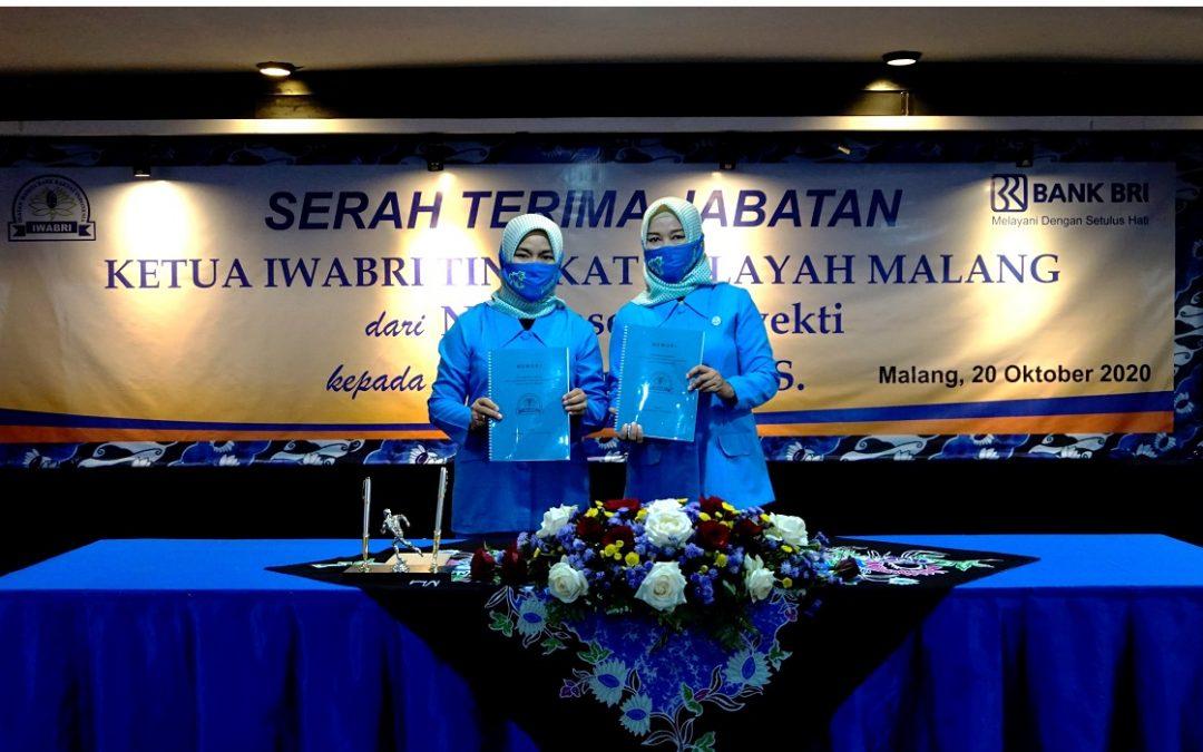SERAH TERIMA JABATAN KETUA IKATAN WANITA BANK RAKYAT INDONESIA TINGKAT WILAYAH MALANG