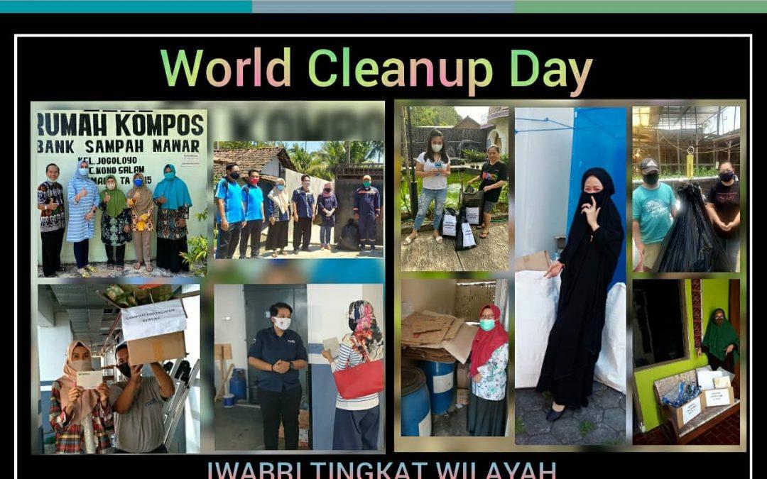 World Cleanup Day 2020, IWABRI Tingkat Wilayah Semarang