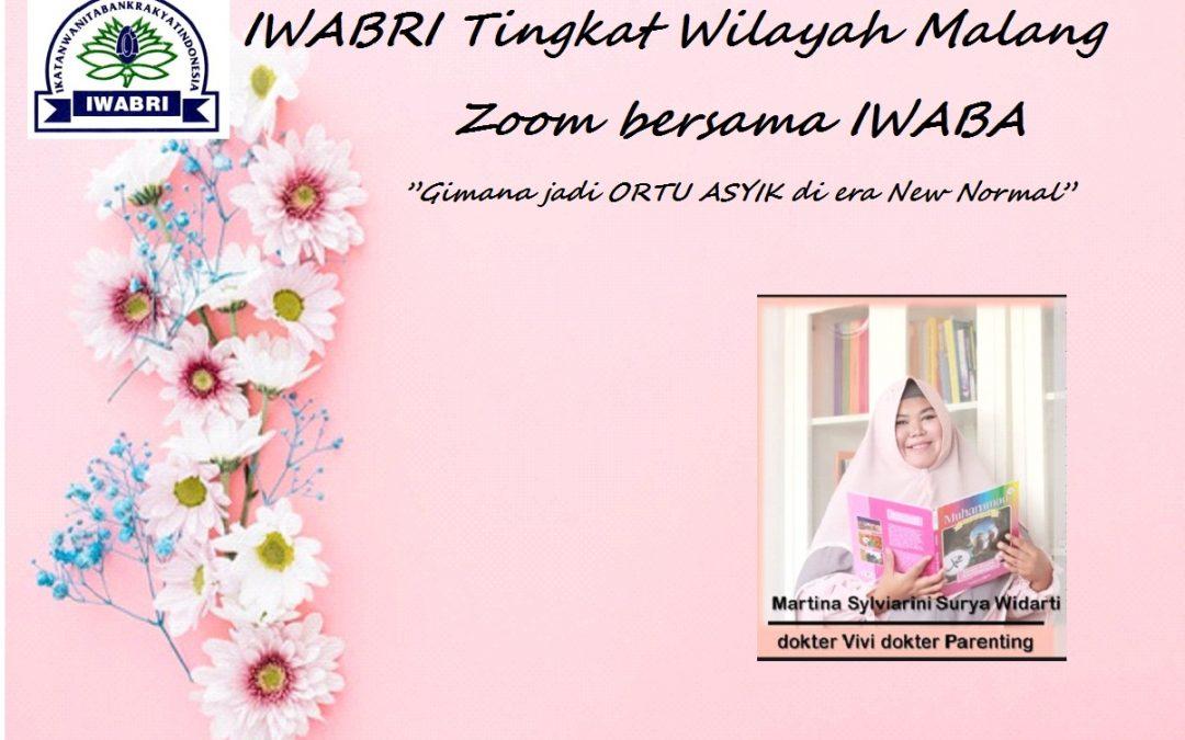 IWABRI KANWIL MALANG dalam kegiatan bersama dengan IWABA MALANG
