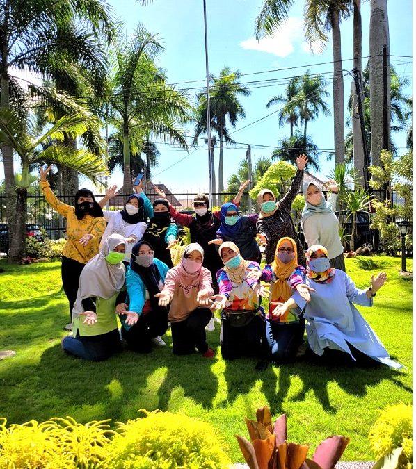 Silaturahmi Ibu Ketua Iwabri Tingkat Pusat Bersama Ibu-Ibu Iwabri Kanwil Malang