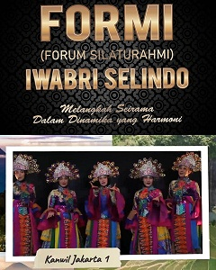 IWABRI Tingkat Wilayah Jakarta 1 turut berpartisipasi secara virtual dalam FORMI (Forum Silaturahmi) IWABRI Selindo