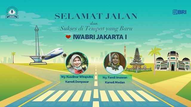 Pelepasan Pengurus IWABRI Jakarta 1