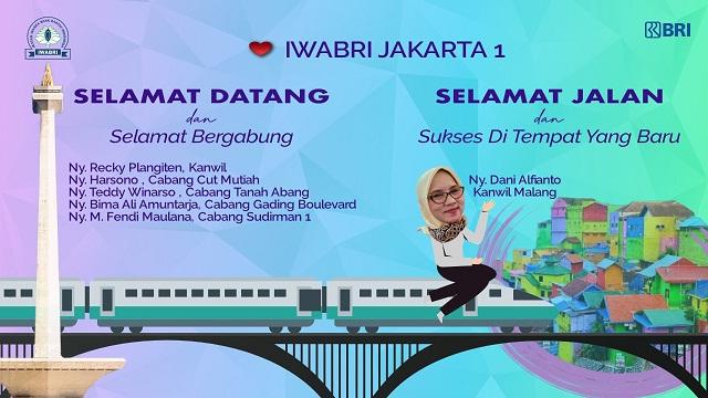 Pelepasan dan Perkenalan Pengurus IWABRI Tingkat Wilayah Jakarta 1