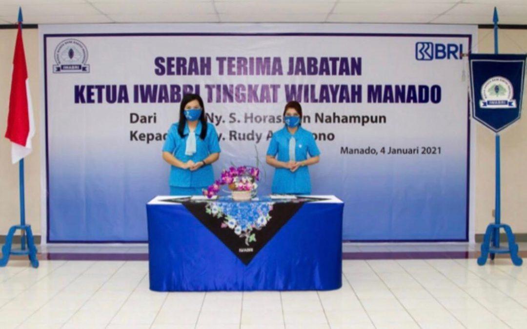 Serah Terima Jabatan Ketua Iwabri Tingkat Wilayah Manado