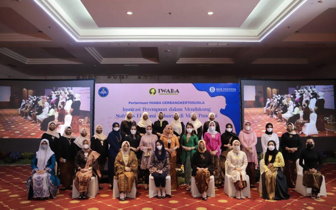 """Pertemuan IWABA GERBANGKERTOSUSILA """"Inspirasi Perempuan Dalam Mendukung Stabilitas Ekonomi Keluarga Dimasa Pandemi"""""""
