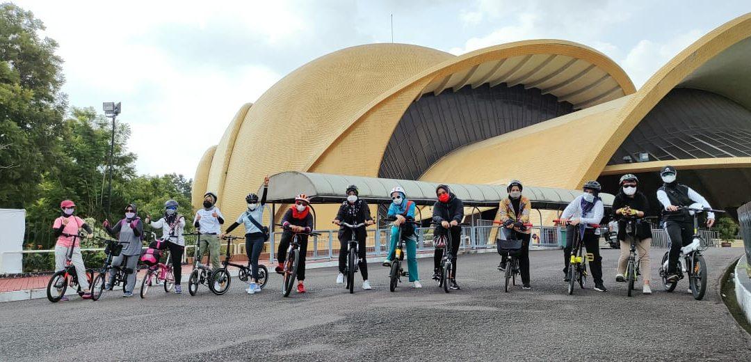 Bersepeda Santai Bersama IWABRI Tingkat Wilayah Jakarta 2 (April 2021)