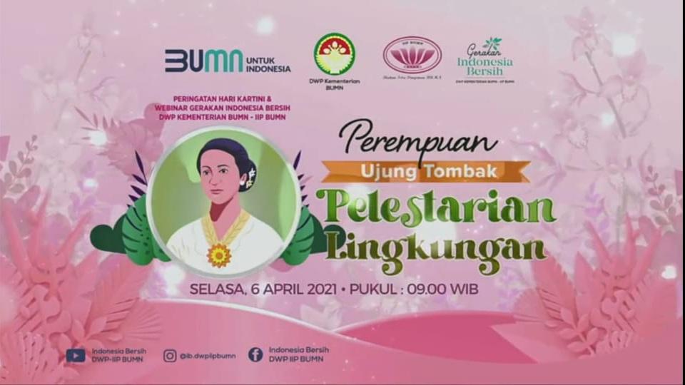 "IWABRI Tingkat Wilayah Jakarta 2 Turut Serta Dalam WEBINAR ""Perempuan Ujung Tombak Pelestarian Lingkungan"""
