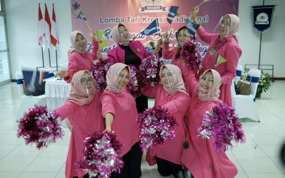 IWABRI Tingkat Wilayah Banjarmasin Turut Serta Dalam Lomba Tari Kreasi Tradisional
