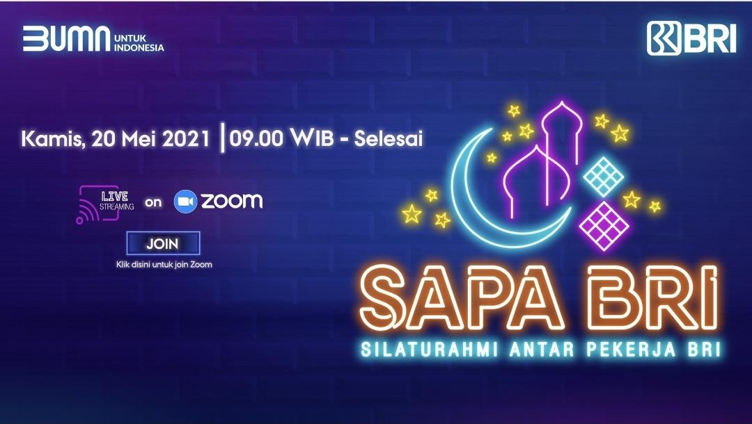 IWABRI Tingkat Wilayah Jakarta 2 Turut Serta dalam SAPA BRI (Mei 2021)