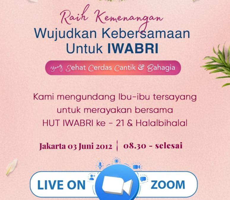 IWABRI Jakarta 2 Turut Serta dalam Perayaan HUT IWABRI ke 21 dan Halal Bihalal