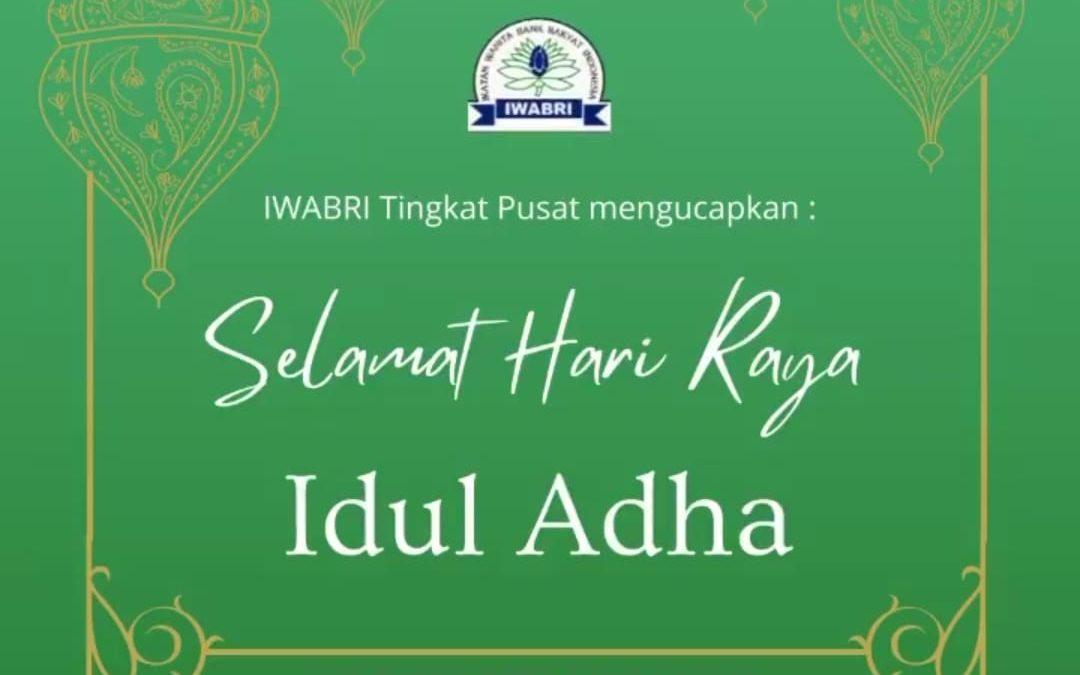 SELAMAT HARI RAYA IDUL ADHA,10 DZULHIJJAH 1442 H