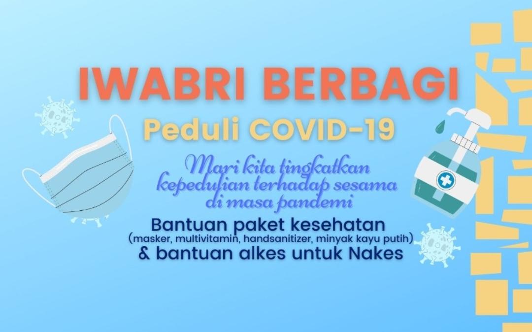 IWABRI BERBAGI & PEDULI COVID-19, 19 JULI 2021