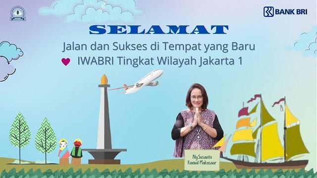 Pelepasan Anggota IWABRI Tingkat WIlayah Jakarta 1