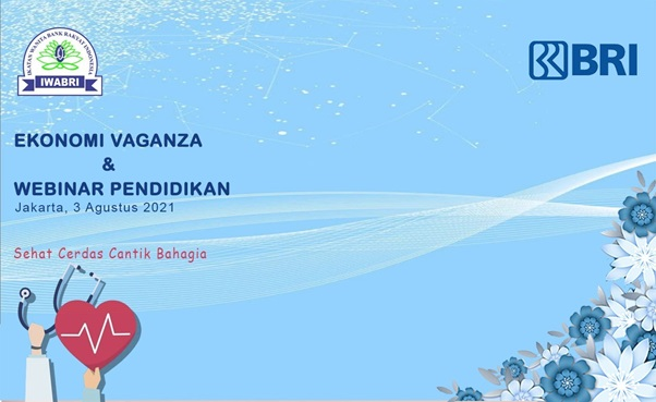 "IWABRI Tingkat Wilayah Jakarta 1 turut berpartipasi secara virtual dalam acara Ekonomi Vaganza "" Grand Launching Instagram Bidang Ekonomi IWABRI Pusat dan Webinar Pendidikan"" yang di selanggarakan oleh IWABRI Tingkat Pusat."