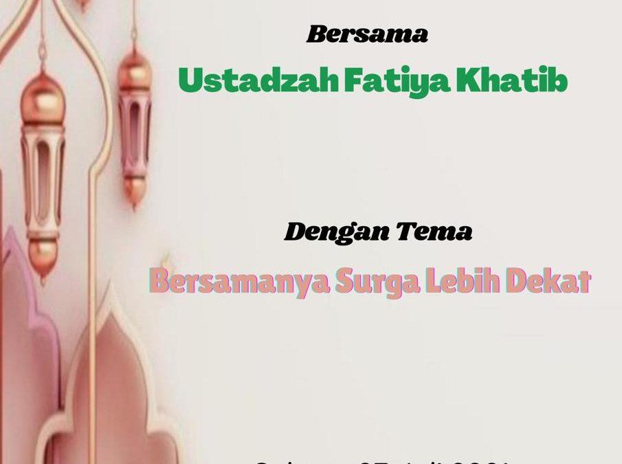 IWABRI Jakarta 2 Turut Serta dalam Taklim Assakinah (Juli 2021)