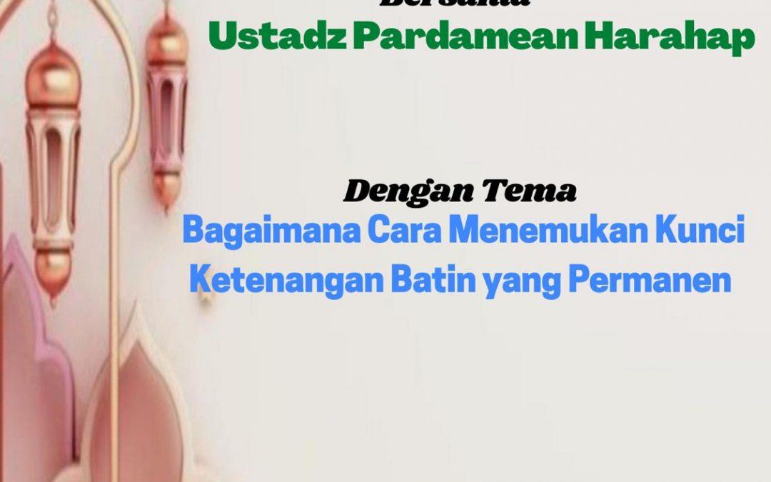 IWABRI Tingkat Wilayah Jakarta 2  Turut Serta dalam Taklim Assakinah (14 September 2021)